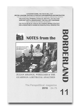 NOTES FROM THE BORDERLAND - Issue 11