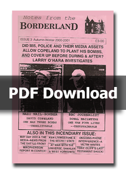 NOTES FROM THE BORDERLAND - Issue 3 - PDF Download