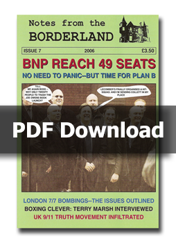 NOTES FROM THE BORDERLAND - Issue 7 - PDF Download