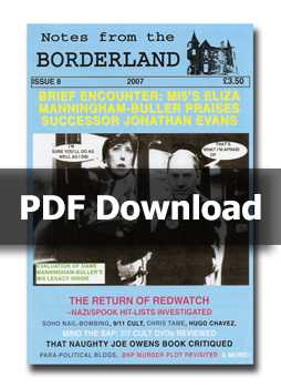 NOTES FROM THE BORDERLAND - Issue 8 - PDF Download